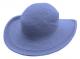 COTTON CROCHET HAT- PERIWINKLE